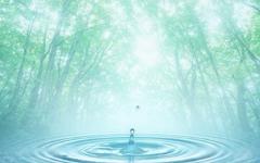 神秘的水滴