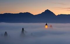 雾中的那盏灯